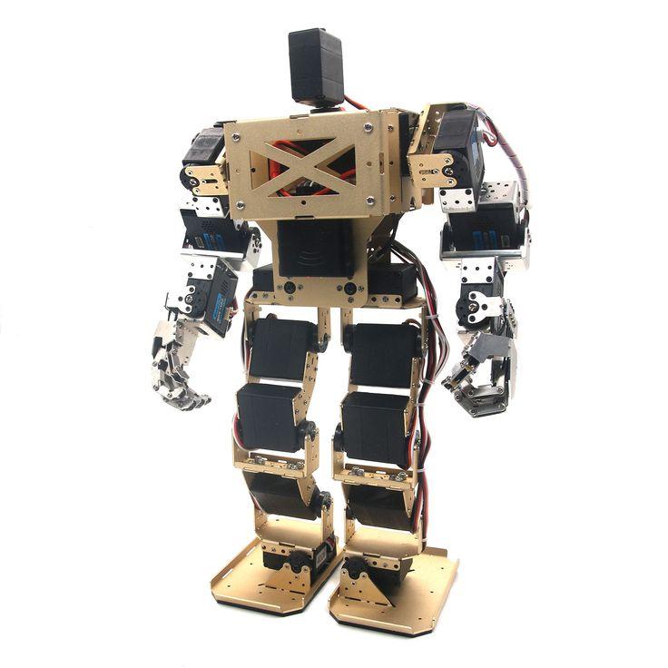 414.80$  Watch now - http://ali0yk.worldwells.pw/go.php?t=32772180249 - 17DOF Biped Robot Humanoid Anthropomorphic Combat Battle Robot Height 38cm for DIY Robotics Assembled 414.80$