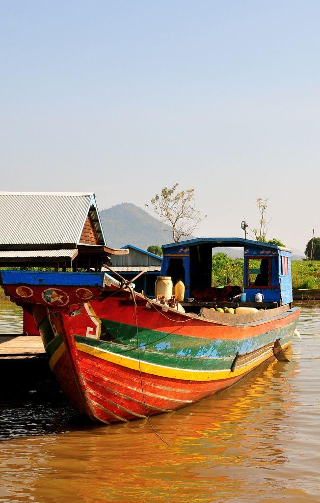 Kampong Chhnang, Cambodia | Kampong Chhnang is a busy, exciting town to visit on the southern shore of the Tonle Sap lake.