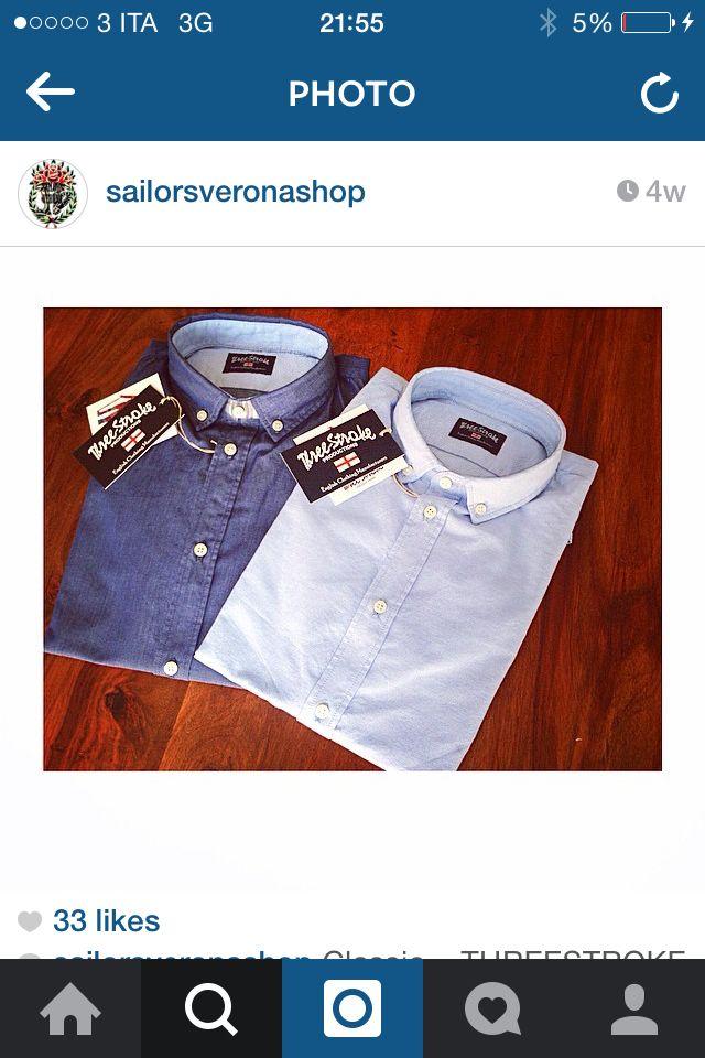 Short and long sleeved shirts #threestroke