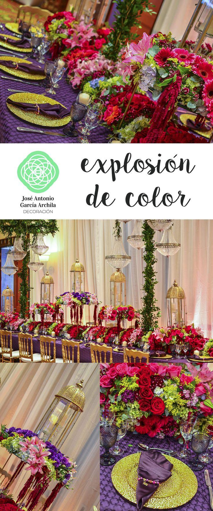 Las 25 mejores ideas sobre manteles de mesa de boda en for Gama de colores vivos