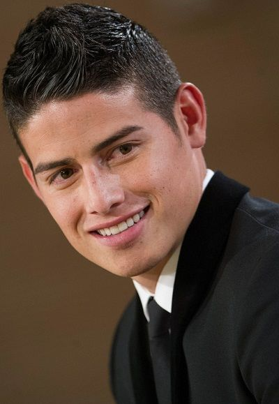 2014 Soccer - James Rodriguez Presented as Real Madrid's New Player at Santiago Bernabeu Stadium in Madrid - July 23, 2014
