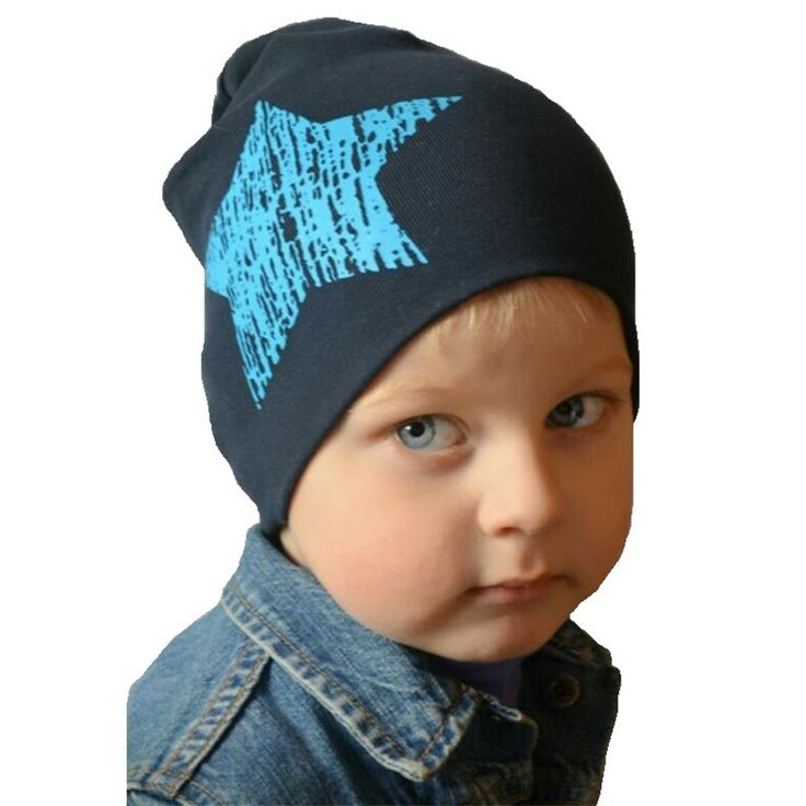 Cute Stars Baby Boy Cap Baby Hat Beanie for Girls Cotton Knitted Spring Autumn Winter Warm Cap Children Hat