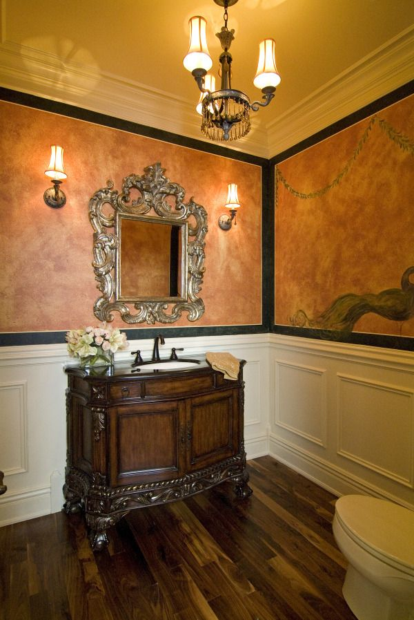 17 Best Images About Interior Design Old World Traditional Tuscan Bathrooms And Powder Rooms On