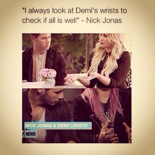 Nick is so sensitive