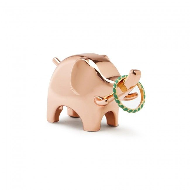 The Umbra Anigram Ring Holder is an adorable way to keep your rings organized. It can be placed near a sink to store rings when washing hands or in the kitchen while cooking. Check out all the different animals in this series too!