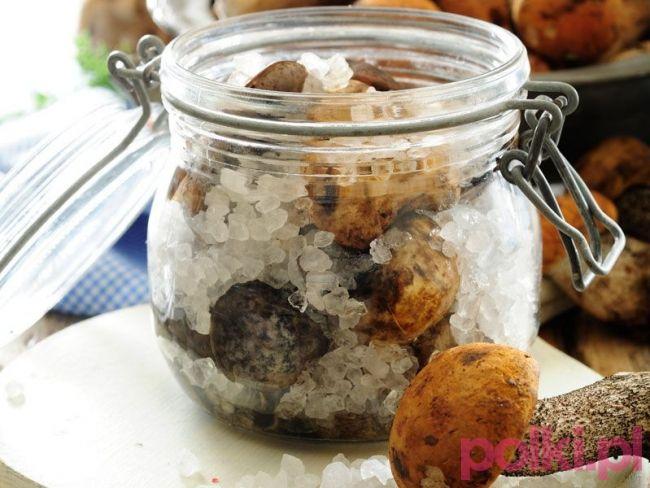 Kiszone grzyby - przepis składniki i przygotowanie -Przepis