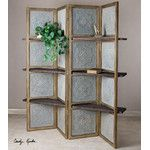 "Proman 67"" x 54"" Oscar Picture Folding Screen 4 Panel Room Divider & Reviews 