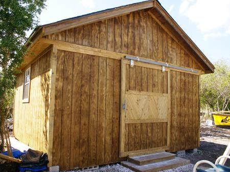 16 x 16 Storage Shed | Do It Yourself Home Projects from Ana White