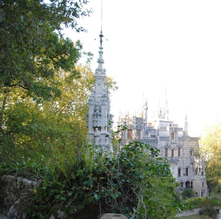 View of Quinta da Regaleira House