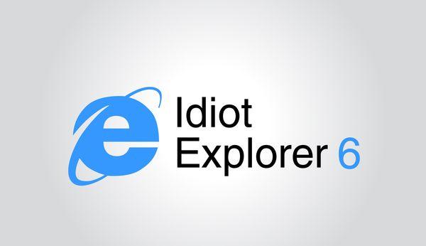 Logo parody - Internet Explorer by Tudorache Ion-Dragos, via Behance