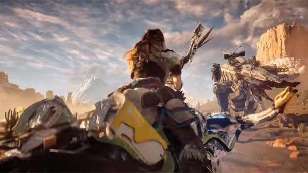 New Horizon Zero Dawn Trailer Reveals More Of Aloy's Weird World - Horizon Zero Dawn - PlayStation 4