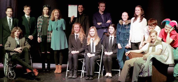 Our Youth Theatre cast in Volpone