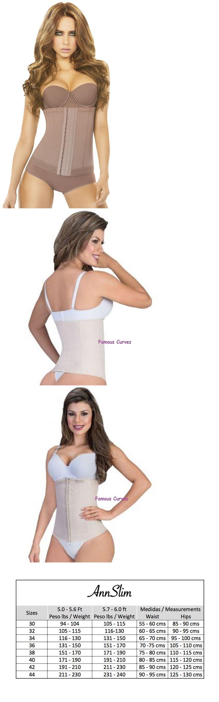 Women Shapewear: Women S Non Latex Waist Trainer Shaper Ann 3 Hooks Chery Colombian Shapewear Asm -> BUY IT NOW ONLY: $36.09 on eBay!