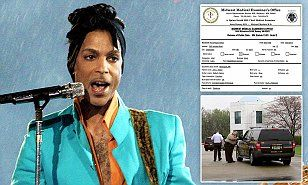 Prince died of a self-administered Fentanyl overdose according to an autopsy report released on Thursday by the Midwest Medical Examiner's Office almost two months after his death at the age of 57.