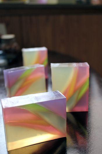最近の透明石けんの作り方|新潟 手作り石鹸の作り方教室 アロマセラピーのやさしい時間