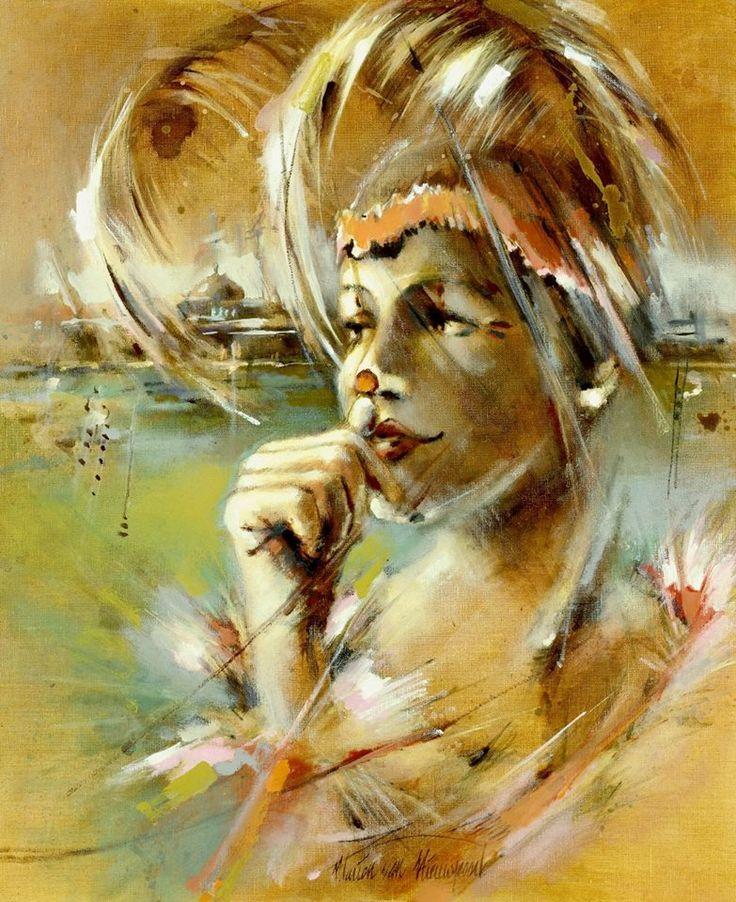 Marion van Nieuwpoort (Dutch artist) 1950 - 2008 -Kop Handen-II (Head Hands-II), 2002