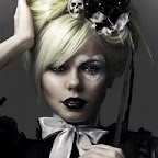 Kerli- an Estonian Pop Star! I'm excited :-)Ideas, Halloween Costumes, Alice In Wonderland, Halloween Makeup, Gothic Lolita, Ker, Hair, Queens Of Heart, Gothic Fashion