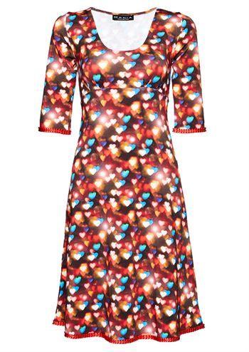 neon farvet kjoler