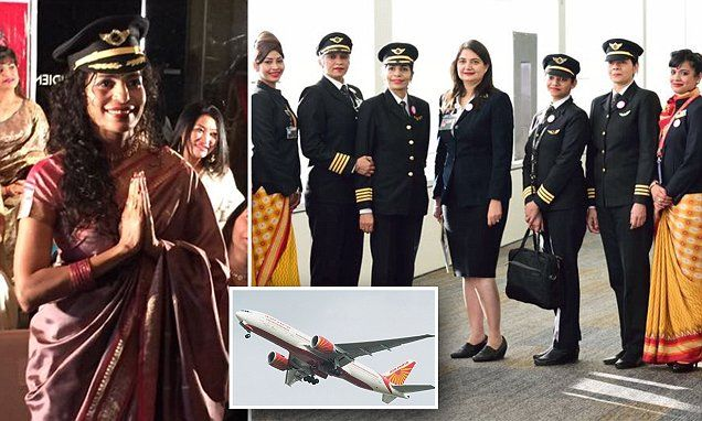 Air India completes first ever round-the-world flight crewed by women -   Air India has made history by completing its first ever around-the-world flight run entirely by an all-woman crew.   The plane travelled from Delhi ... See more at https://www.icetrend.com/air-india-completes-first-ever-round-the-world-flight-crewed-by-women/