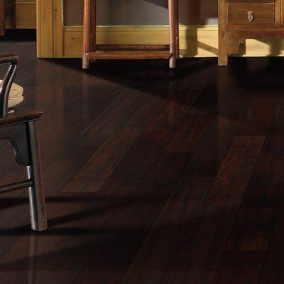 "Mohawk Randhurst SWF 3-1/4"" Solid Oak Hardwood Flooring in Chocolate"