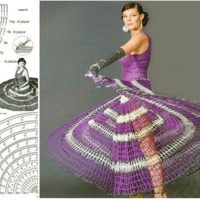 Häkelkleid Kleid häkeln - Crochet Dress