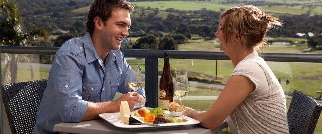 Balcony dining @ McCracken Country Club