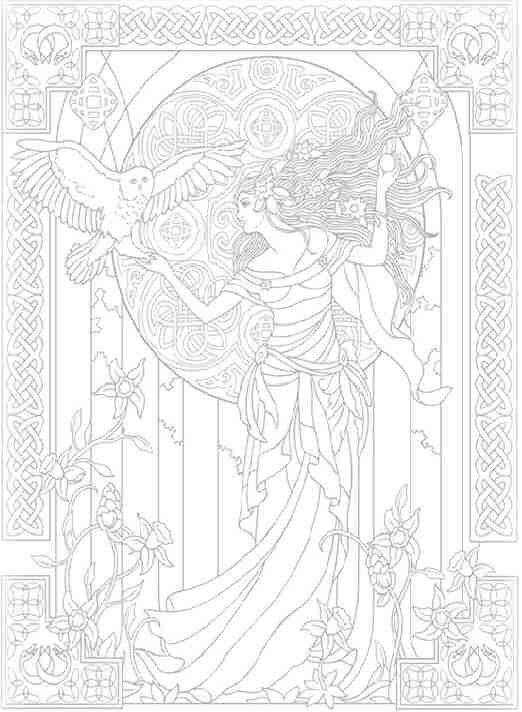 Celtic Moon Goddess