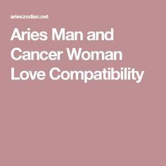 pisces woman and aries man love relationship