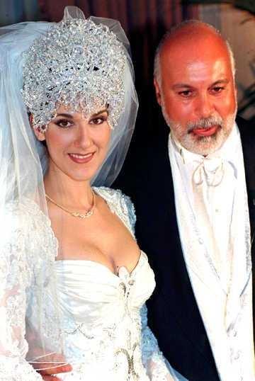 Celine Deon's Headpiece is Maybe Too Big?