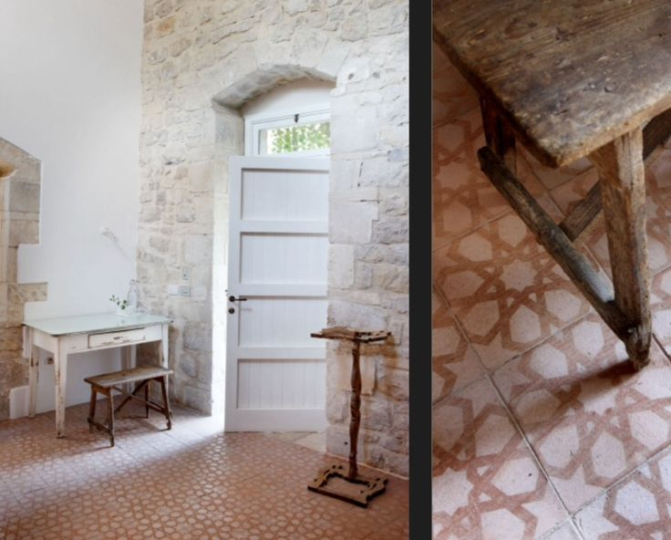 """These floor tiles are from our feature """"Rustic Renovation"""""""