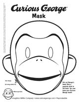 October 27, 2014. At the end, the kids colored and cut out Curious George masks!