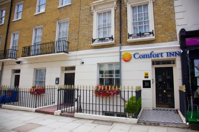 Accommodation in St Pancras Hotel - Comfort inn and suites kings cross - London: Comfort inn and suites Kings cross Hotel
