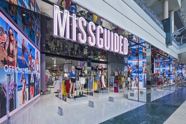 Missguided store at Bluewater by Dalziel & Pow Stone  UK