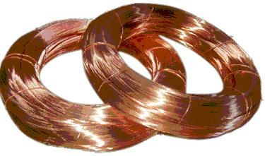 Copper wire is an electric conductor