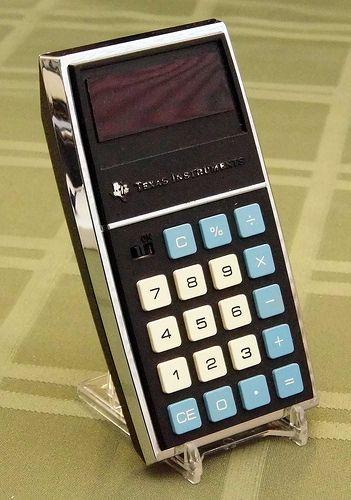 Psion financial calculator