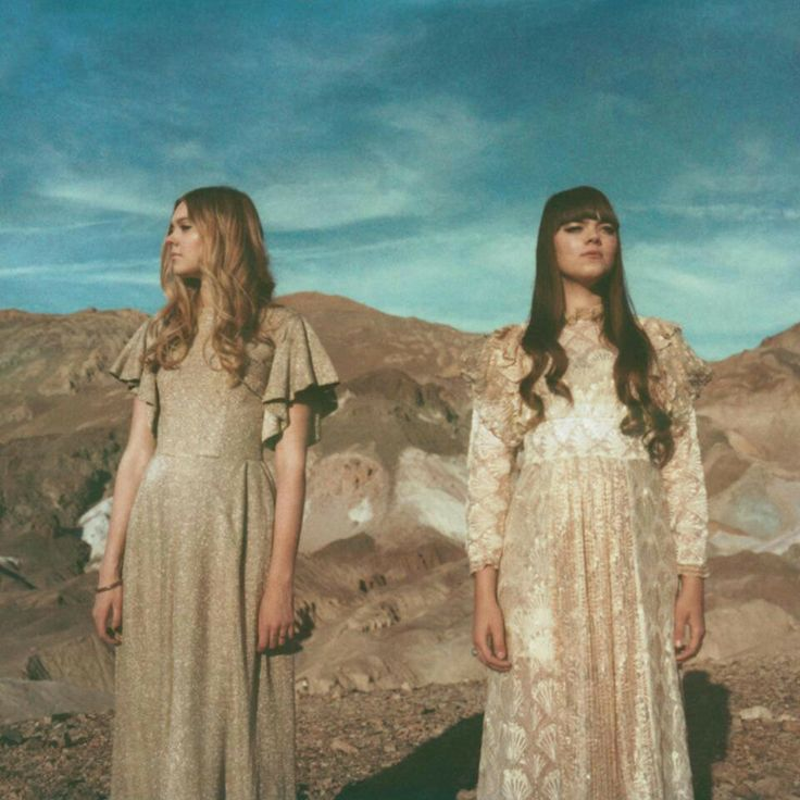 Cute dresses worn by First Aid Kit
