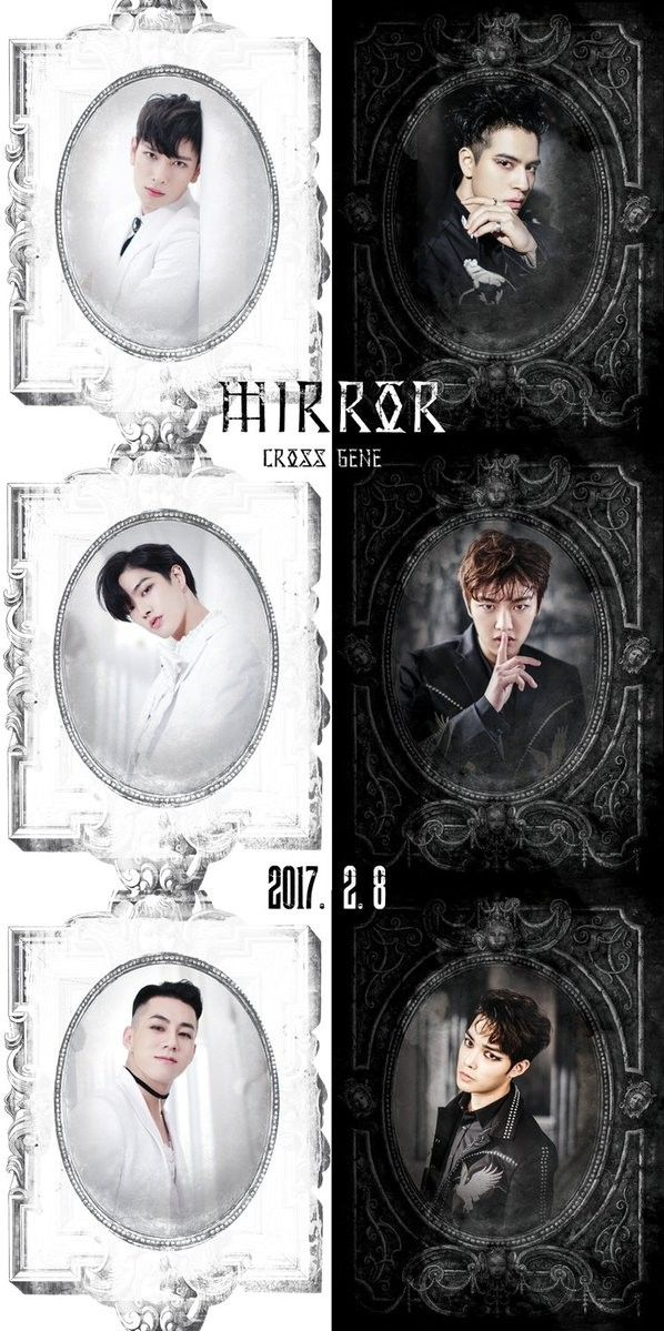 Cross Gene continue their 'Mirror' concept of angels/devils with more individual teaser images | allkpop.com