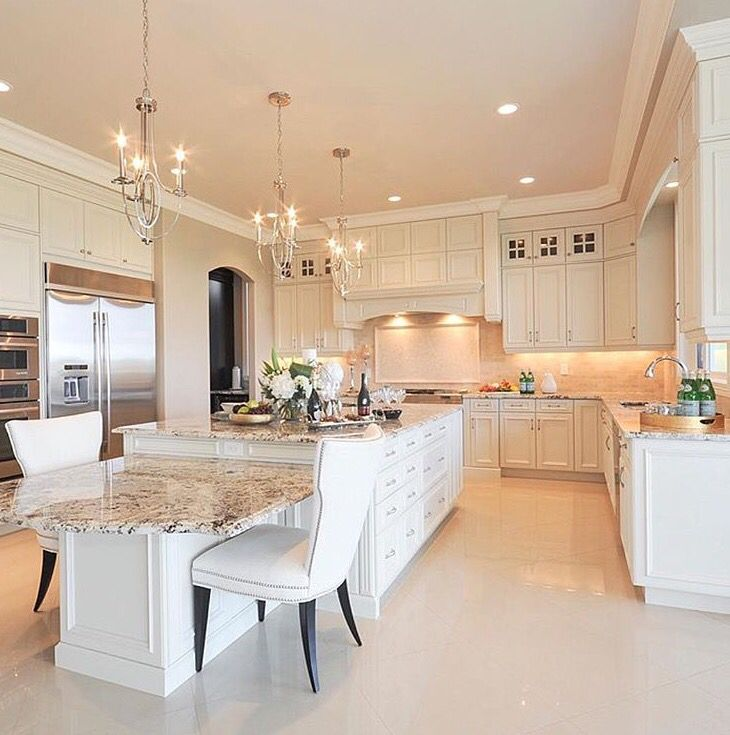 17 best images about beautiful kitchens on pinterest for Beautiful white kitchen designs