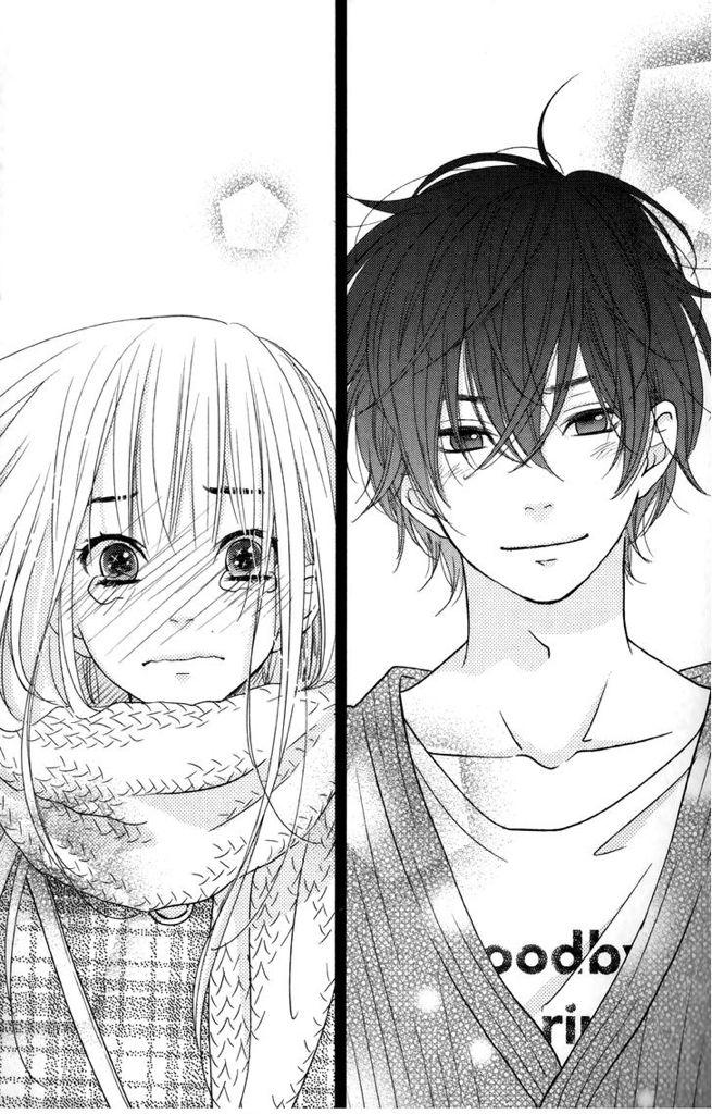 #Tonari no Kaibutsu-kun or #My Little Monster anime/manga, Haru Yoshida and Shizuku Mizutani, manga couple, anime couple