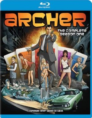 Archer Blu-ray Season 1 (D) #RightStuf2013