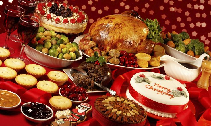 Christmas dinner is the primary meal traditionally eaten on Christmas Eve or Christmas Day. Description from pixgood.com. I searched for this on bing.com/images