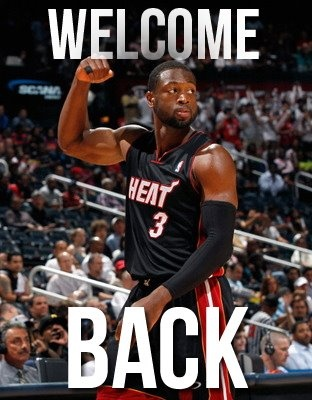 D Wade's Back