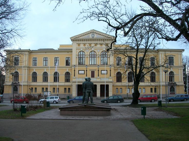 City Hall, Vaasa, Finland.  Birthplace of Matts Jonsson Abbel (MNXM-4P8) born about 1575.  And his wife Mrs. Matts Jonsson Abbel (MNXM-453) born about 1580.  5 generations after them were born here with the last ones born here in 1735 and 1738.  See pedigree charts for names.