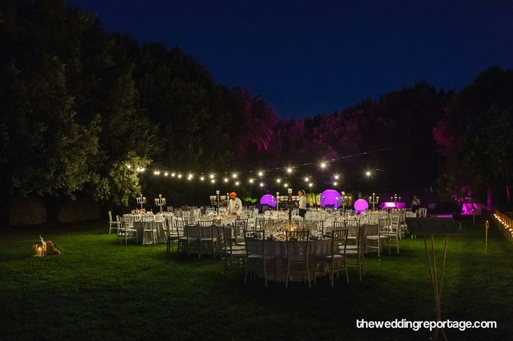 Magical atmosphere.  www.theweddingreportage.com