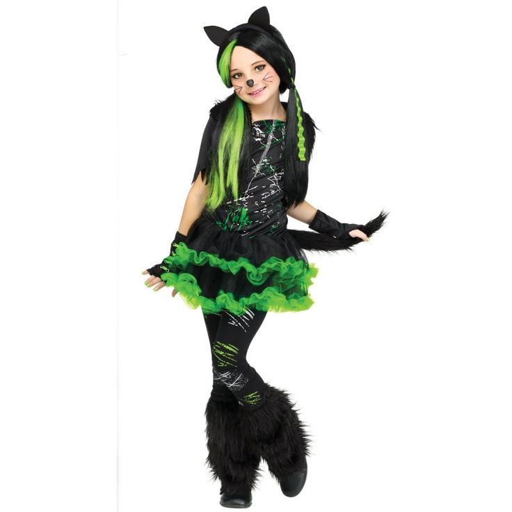 Picture of Kool Kat (cat) Girls Costume