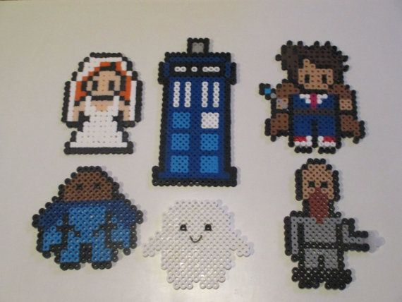 Doctor Who Inspired The Doctor Donna Set by HouseOfGeekiness, available as a magnet set, wall décor, or hanging ornament on https://www.etsy.com/listing/159640272/wall-decor-set-doctor-who-inspired-donna?ref=shop_home_active