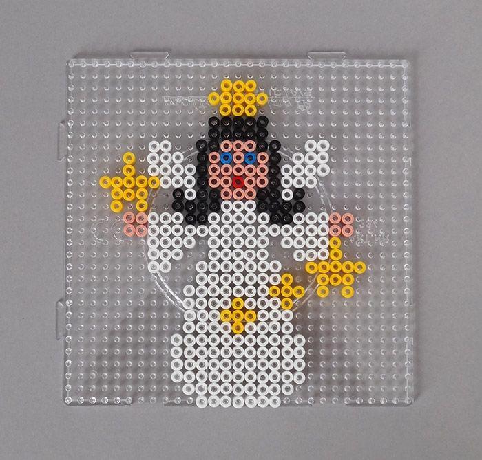 Christmas angel Hama beads