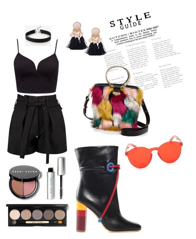 """""""Untitled #79"""" by varga-debora-beatriz on Polyvore featuring Milly, Boohoo, Malone Souliers, Express and Bobbi Brown Cosmetics"""