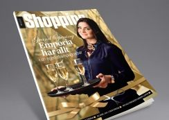 Shopping magazine from Steen & Strøm. Pinned from www.redink.no.