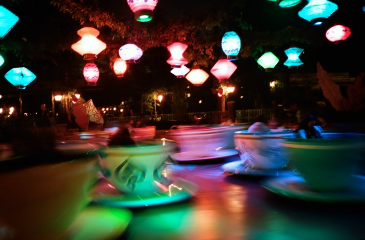 Disney World Teacups #photography #lights #disneyworld: Photography Lights, Disney Photography, Disney Rides, Lights Disneyworld, Place, Disney Things, Wdw Rides